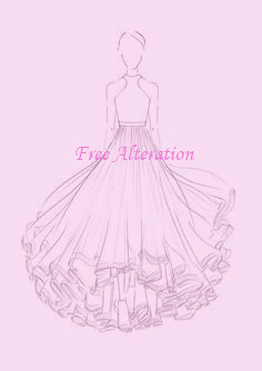 DressSketch_FreeAlteration